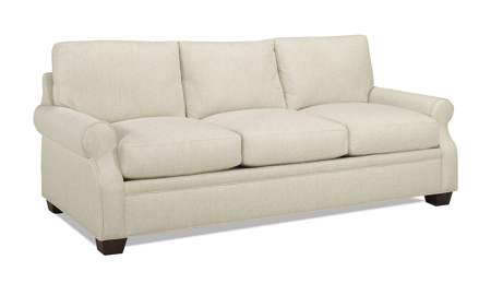Carolina Custom Larkspur Sofa Linen