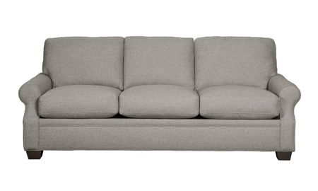 Carolina Custom Larkspur Sofa Charcoal