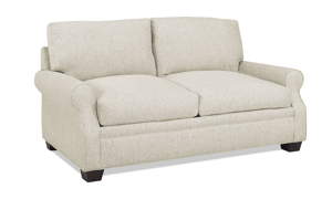 Carolina Custom Larkspur Loveseat Linen