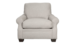 Carolina Custom Larkspur Chair Warm Grey
