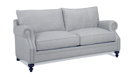 Carolina Custom Sherwood Loveseat Stone