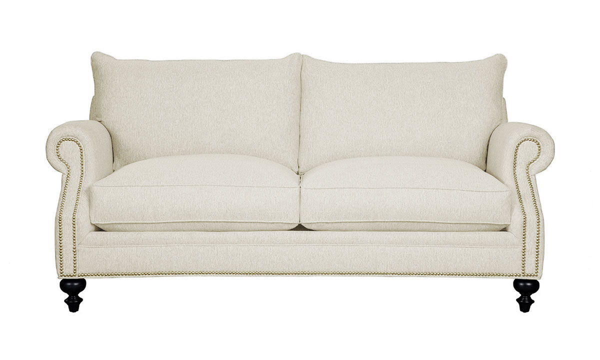 Carolina Custom Sherwood Loveseat Linen