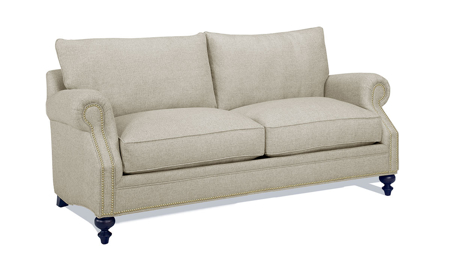 Carolina Custom Sherwood Loveseat Flax