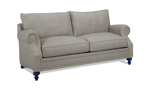 Carolina Custom Sherwood Loveseat Charcoal