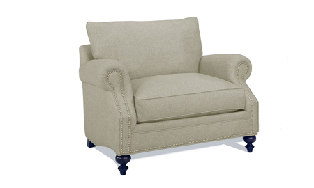 Carolina Custom Sherwood Chair Warm Grey