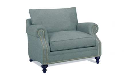 Carolina Custom Sherwood Chair Sea Blue