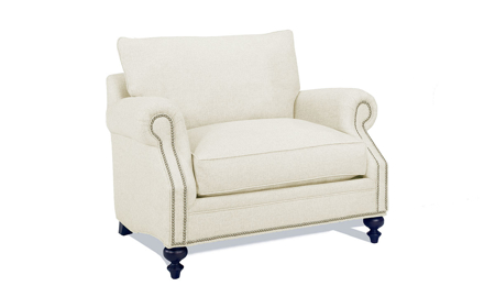 Carolina Custom Sherwood Chair Linen