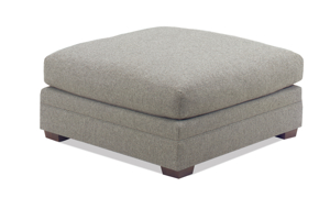 Carolina Custom Holloway Ottoman Charcoal