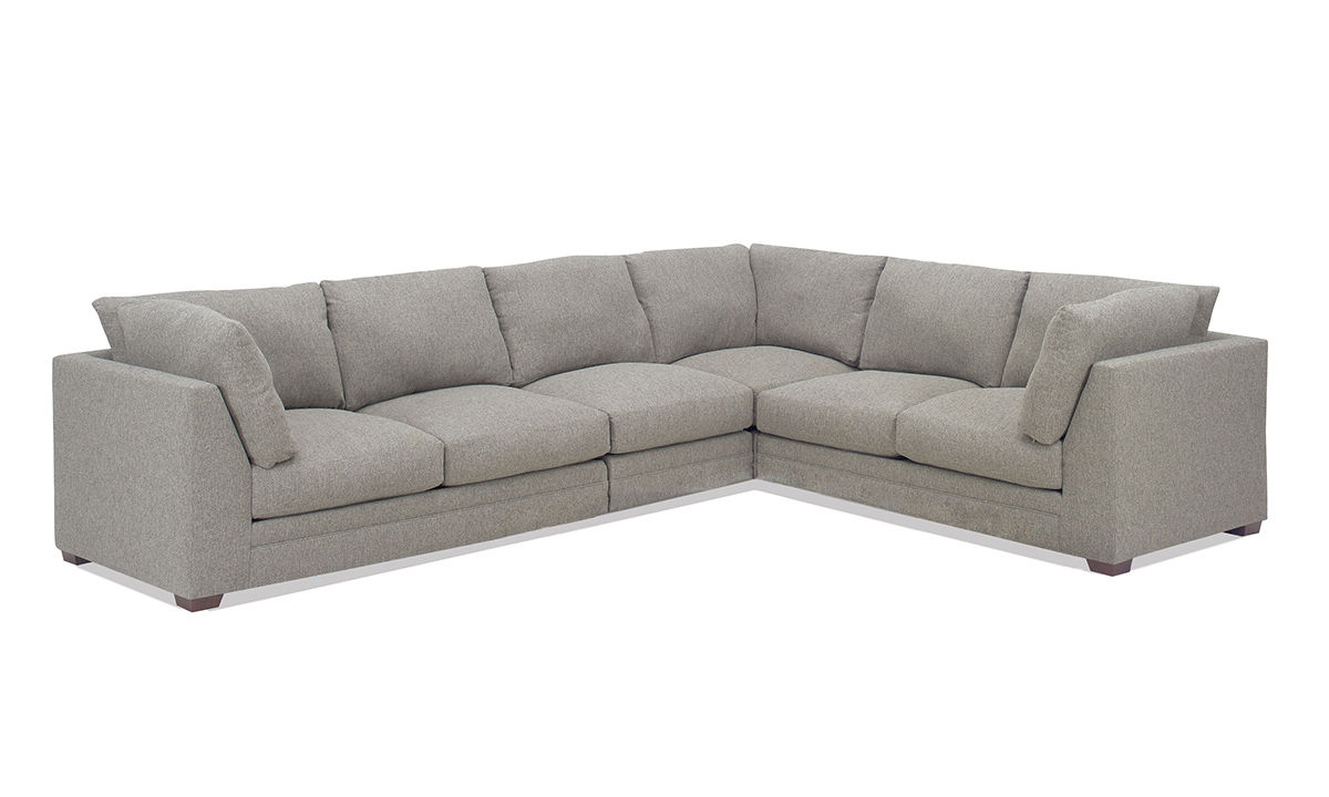 Picture of Carolina Custom Holloway 4-Piece Sectional Charcoal