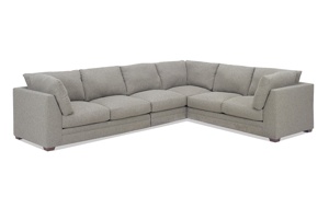 Carolina Custom Holloway 4-Piece Sectional Charcoal