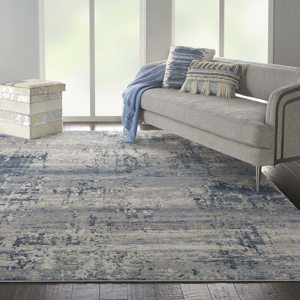 Picture of Rustic Textures RUS10 Ivory/Blue