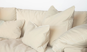 Jessica Jacobs Luxe Sand Grande XL Slipcovered Sofa