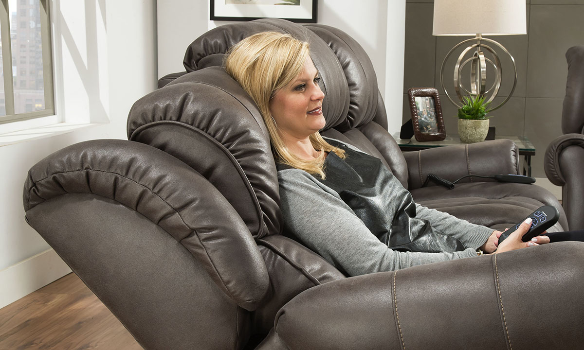 Slate Custom Comfort Power Recliner
