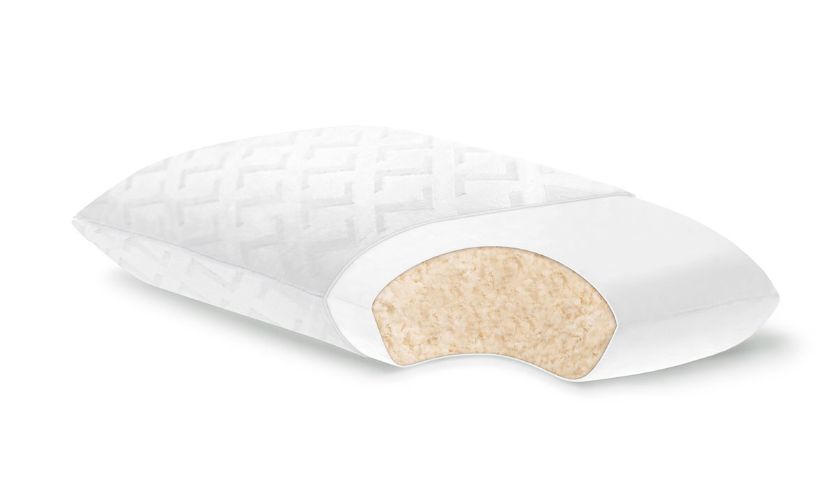 PURA Superb Shredded Talalay Latex Queen Pillow