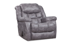 Blockbuster Pewter Rocker Recliner
