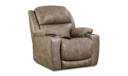 Starship Mushroom Power Theatre Recliner with Power Headrest