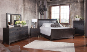 Weston Ash Traditional Sleigh Bedroom Sets