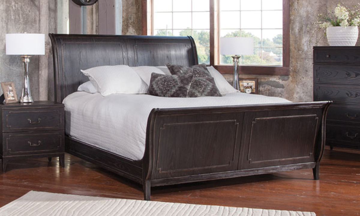 Weston Ash Traditional Sleigh Beds