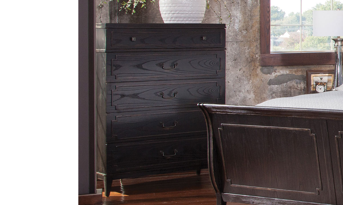 Weston Ash 5-Drawer Chest