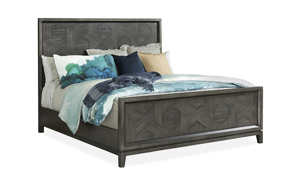 Proximity Heights Smoke Contemporary Panel Beds