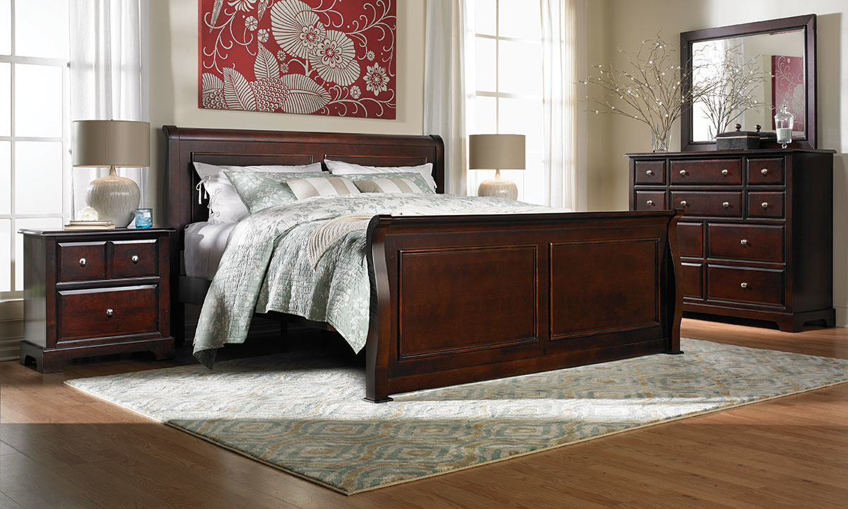 Private Reserve Isabella Louis Philippe 2-Drawer Nightstand