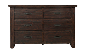 Jackson Lodge Rustic 6-Drawer Dresser