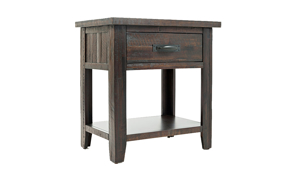 Jackson Lodge Rustic 1-Drawer Nightstand
