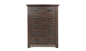Jackson Lodge Rustic 5-Drawer Chest