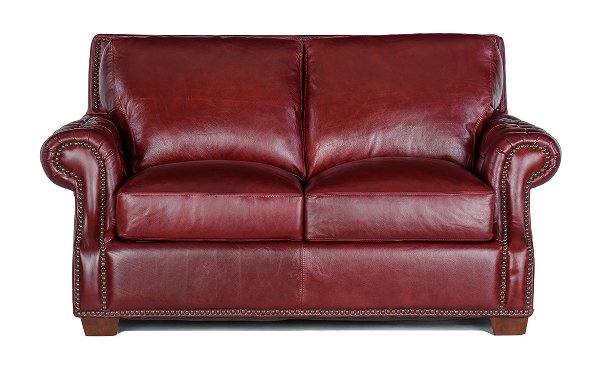 Picture of Rocky Mountain Leather Marsala Loveseat