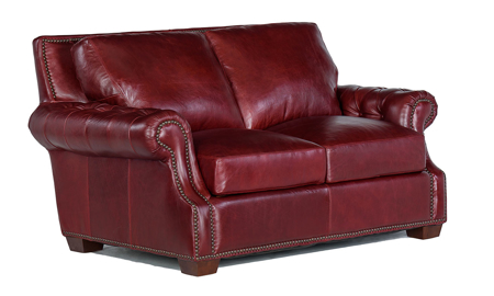 Rocky Mountain Leather Marsala Loveseat
