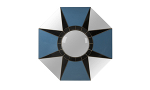 Boyd Blue Fragment Star Mirror