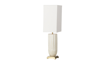 Boyd White Empress Lamp