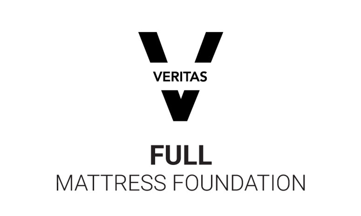 "VERITAS Collection 5"" Low-Profile Full Mattress Foundation"