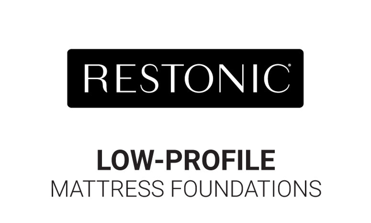 "Restonic Biltmore Low-Profile 5"" Mattress Foundations"