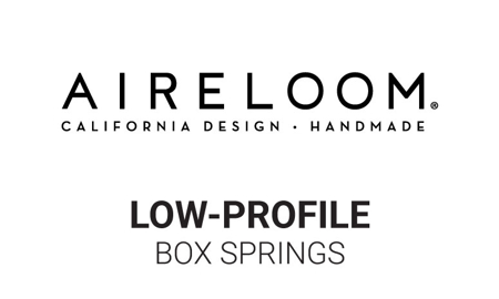Aireloom 5-inch Tweed Low-Profile Box Springs