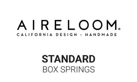 Aireloom 9-inch Tweed Standard Box Springs