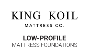 "King Koil 5"" Low Profile Mattress Foundations"