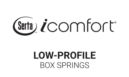 "Serta iComfort® Blue Fusion 6"" Low Profile Box Springs"