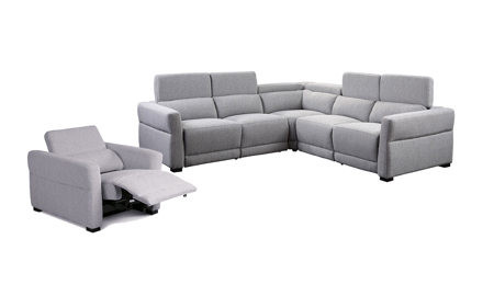 Isla Grey Power Reclining Living Room Set