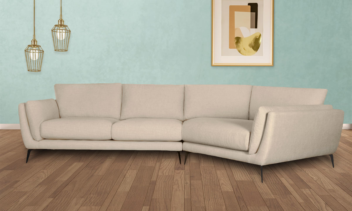 Picture of Janette Larkin Oat Chaise Sectionals