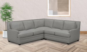 Carolina Custom Noland 3-Piece Sectional Charcoal