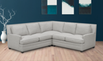 Carolina Custom Noland 3-Piece Sectional Stone