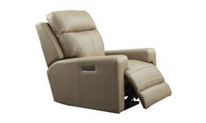 Solana Moon Leather Power Recliner