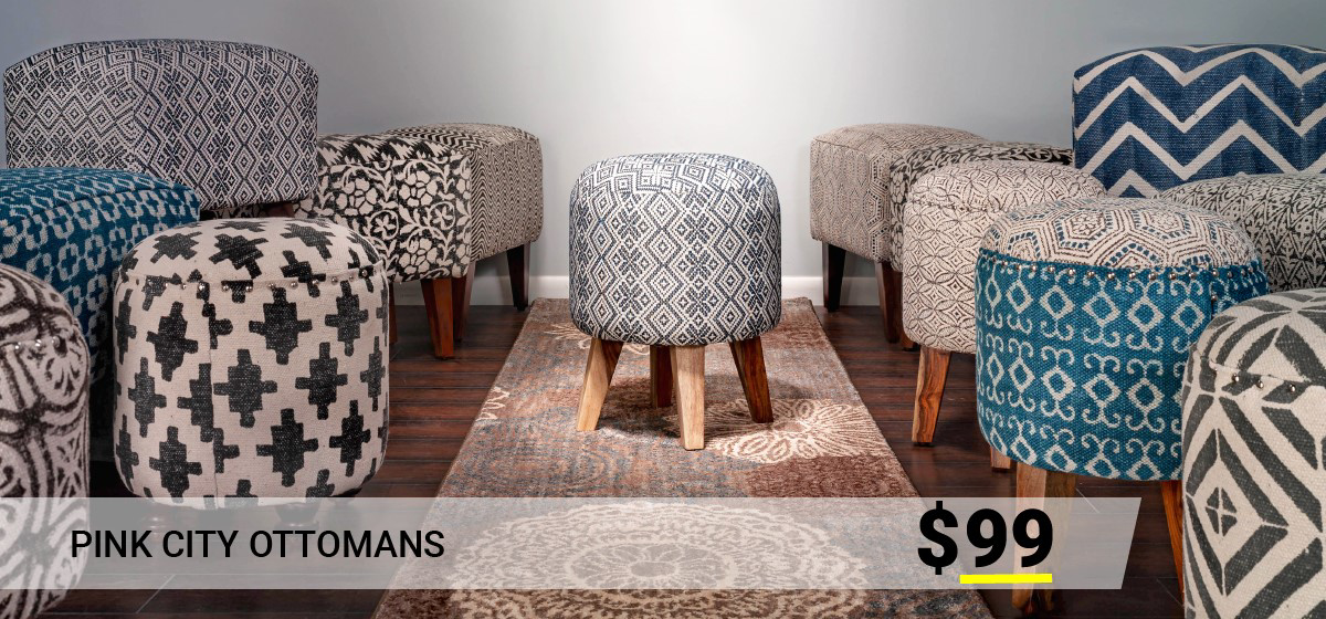 Ottomans The Dump Luxe Furniture Outlet