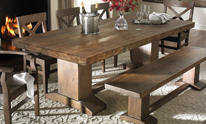 Cape Town Acacia Wood Dining Table