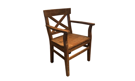 Cape Town Acacia Wood Arm Chair