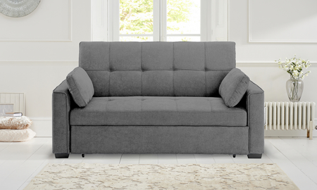 Nantucket Queen Sleeper Sofa Light Grey