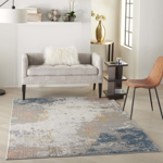 Picture of Rustic Textures RUS13 Grey/Blue