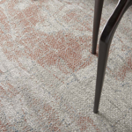 Picture of Rustic Textures RUS15 Light Grey/Rust