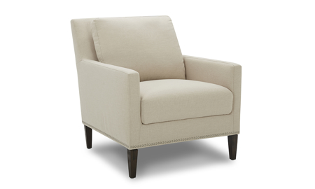 Bella Beige Contemporary Chair